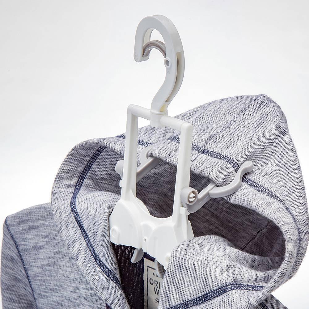 カインズのフード付き衣類が乾きやすいハンガー