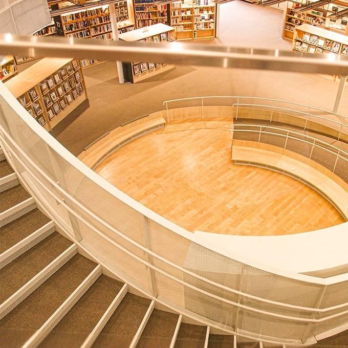 東京都昭島市の図書館