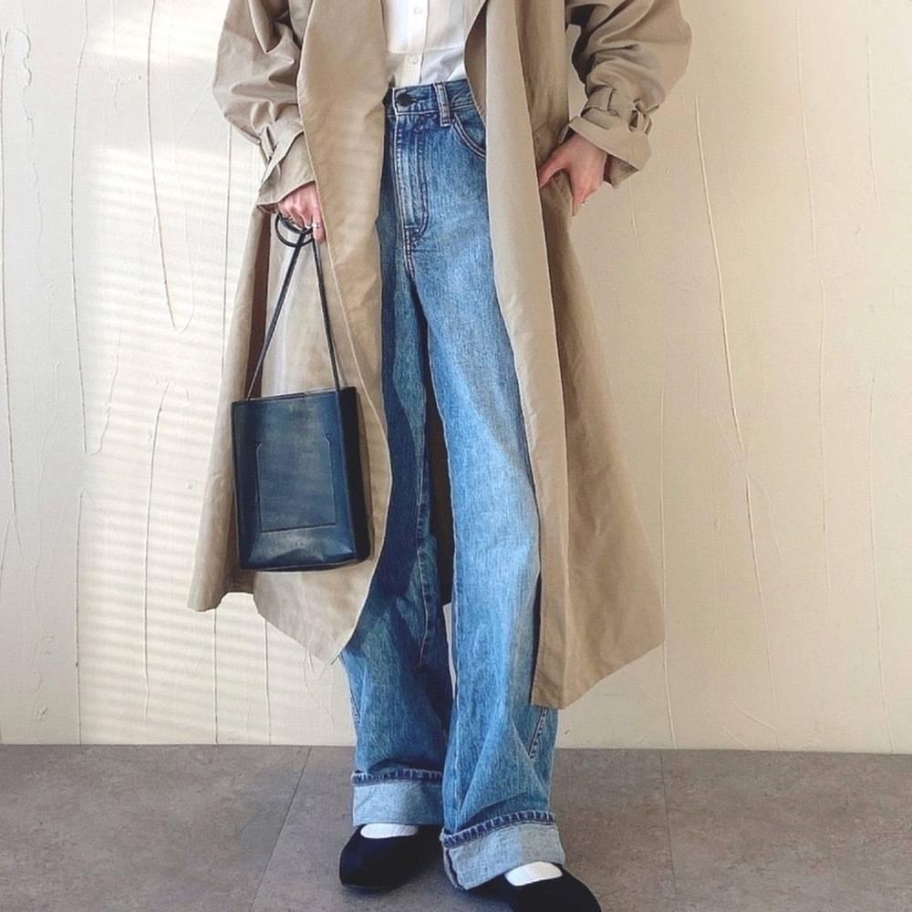 UNIQLO(ユニクロ)パンツ着痩せコーデ